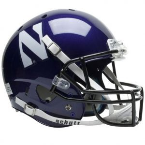 Northwestern Wildcats Schutt Full Size XP Replica Helmet