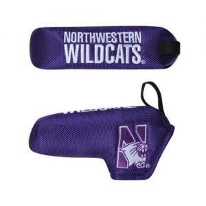 Northwestern Wildcats Shaft Gripper™ Blade Putter Cover with N-Cat Design