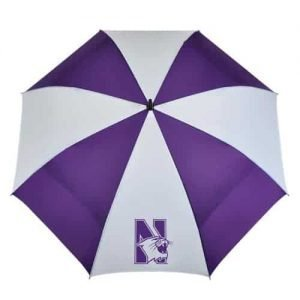 "Northwestern Wildcats 62"" WindSheer® Hybrid Umbrella"