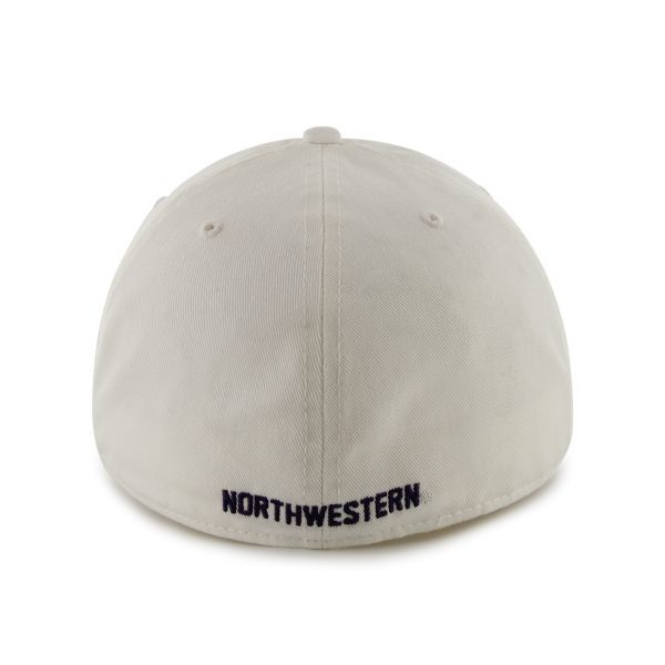 Northwestern Wildcats 47 Brand White Fitted Franchise Hat