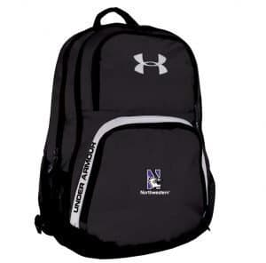 Northwestern Wildcats Under Armour Black PTH Victory Backpack with N-Cat Logo