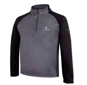 Northwestern University Wildcats Under Armour Youth Athletic 1/4 Zip