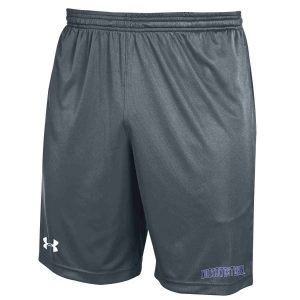 Northwestern University Wildcats Under Armour Carbon Micro Shorts with Printed Arched Northwestern Design