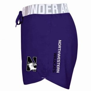 Northwestern University Wildcats Under Armour Ladies Purple Play Up Short