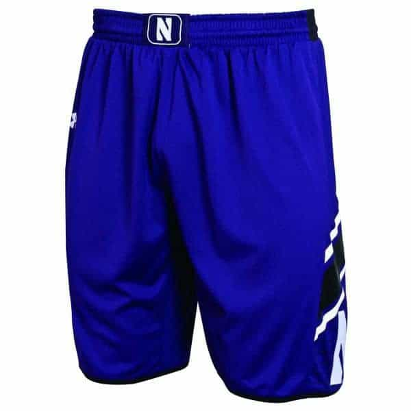 Northwestern Wildcats Under Armour Purple Adult Replica Basketball Shorts