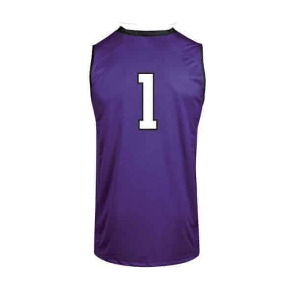 Northwestern Wildcats Under Armour Adult Purple Replica Basketball Jersey with #1