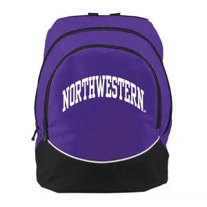 Northwestern University Wildcats Augusta Sportswear Purple Tri-Color Backpack AS1915