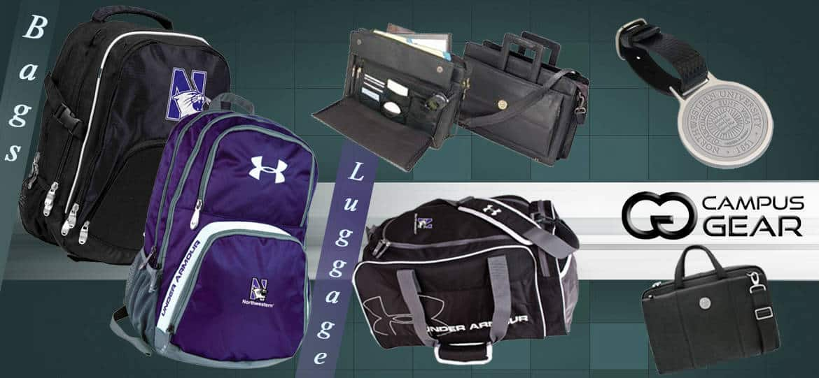 Northwestern Wildcats Bags and Luggage
