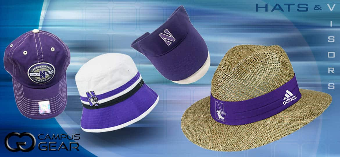 Northwestern Wildcats Hats and Visors