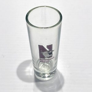 Northwestern Wildcats 2.5 oz. Shooter Shot Glass with N-cat Design