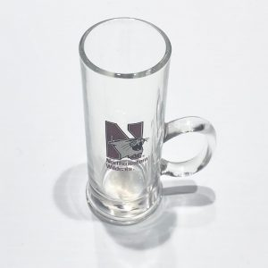 Northwestern Wildcats 2.5 oz. Shooter Shot Glass with a Handle & N-cat Design