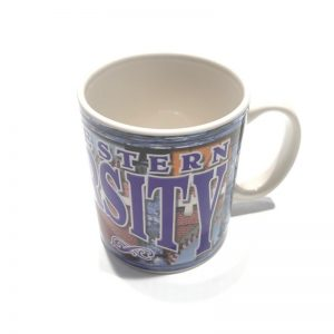 Northwestern University Wildcats Ceramic Mug With Full Color Northwestern Design