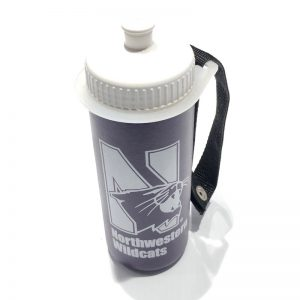 Northwestern University Wildcats 16 oz. Lightly Insulated Squeezable Purple Water Bottle