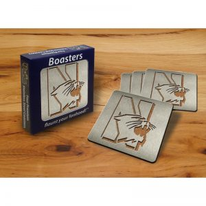 Northwestern Wildcats Boaster Coasters Set of Four