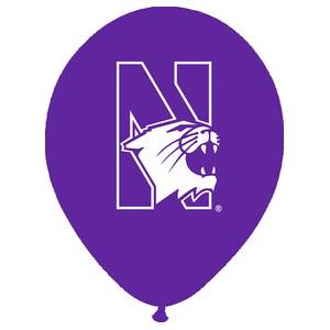 "Northwestern University Wildcats Purple 11"" Latex Balloon"