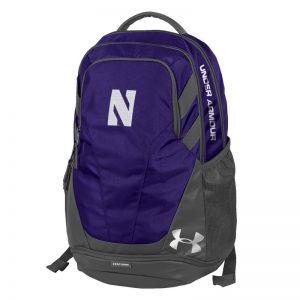Northwestern University Wildcats Under Armour Purple Hustle III Backpack
