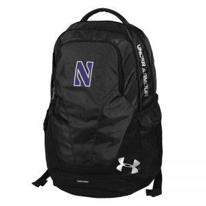 Northwestern University Wildcats Under Armour Black Hustle III Backpack