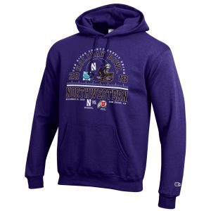 Northwestern 2018 Holiday Bowl Hooded Sweatshirt