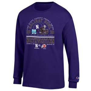 Northwestern 2018 Holiday Bowl Crew Neck Sweatshirt