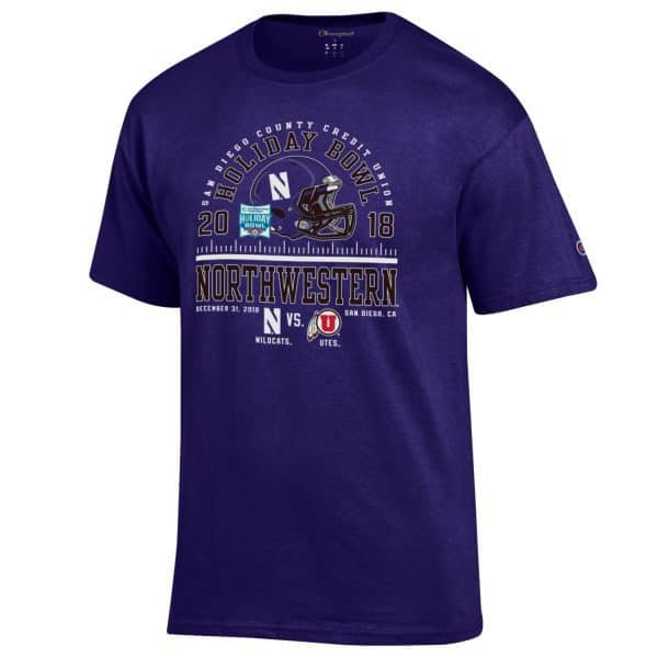 Northwestern 2018 Holiday Bowl T-Shirt