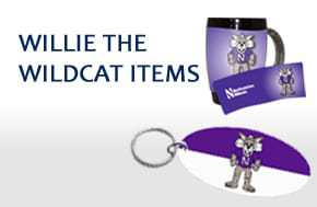 WILLIE THE WILDCAT ITEMS
