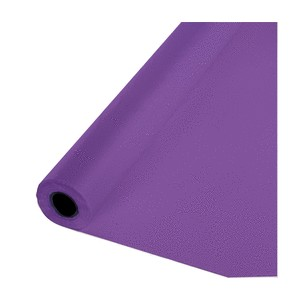 Northwestern University Wildcats Purple Plastic Table Cover by Roll  sc 1 st  C&us Gear & Purple Plastic Table Cover by Roll