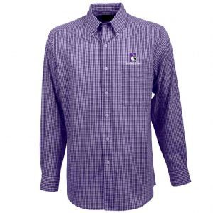 Northwestern University Wildcats Antigua Men's Long Sleeve Casual/Dress Shirt -Associate