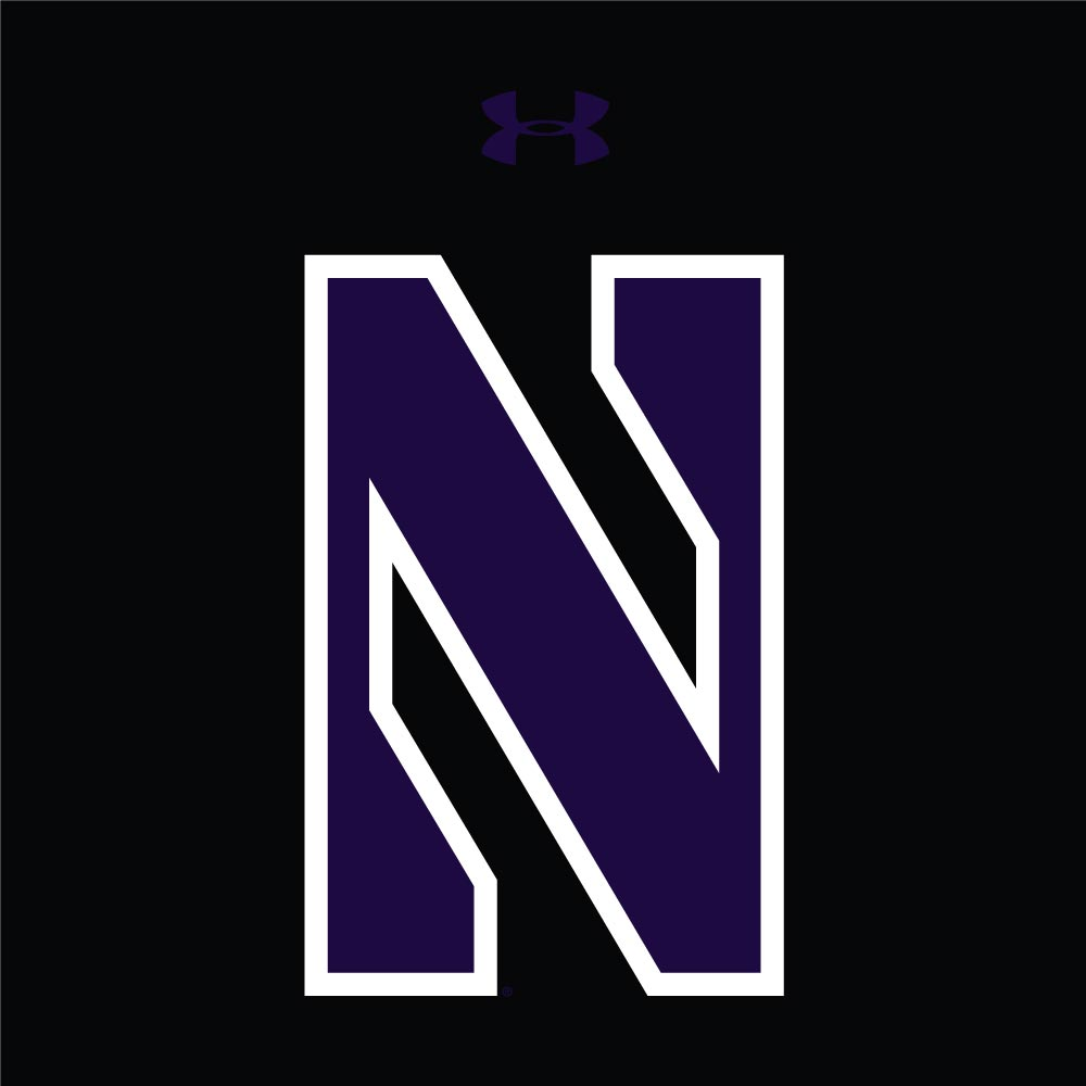 Northwestern Wildcats Youth Under Armour Tactical Tech™ Black Hooded  Sweatshirt with Stylized N Design 7ee7c8b376f5