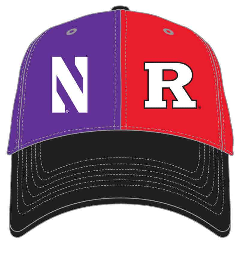 new concept 76775 94546 czech rutgers baseball hat 865f8 b1a0b  norway northwestern wildcats house  divided hat with rutgers scarlet knights 6676d 4041c