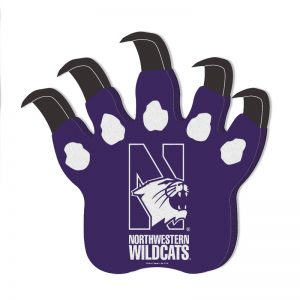 Northwestern Wildcats Purple Foam Wildcat Claws