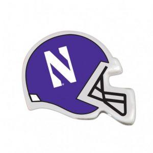 Northwestern Wildcats Wooden Pencil with Helmet Design Pack of 6