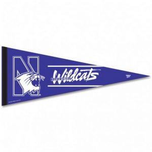 "Northwestern Wildcats Premium Pennant 12"" x 30"""