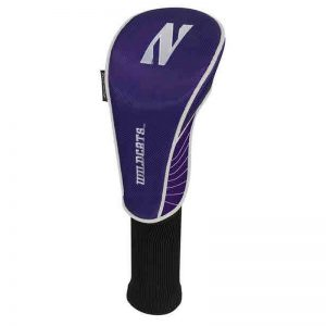 Northwestern Wildcats Utility Golf Club Headcover with Stylized N Design