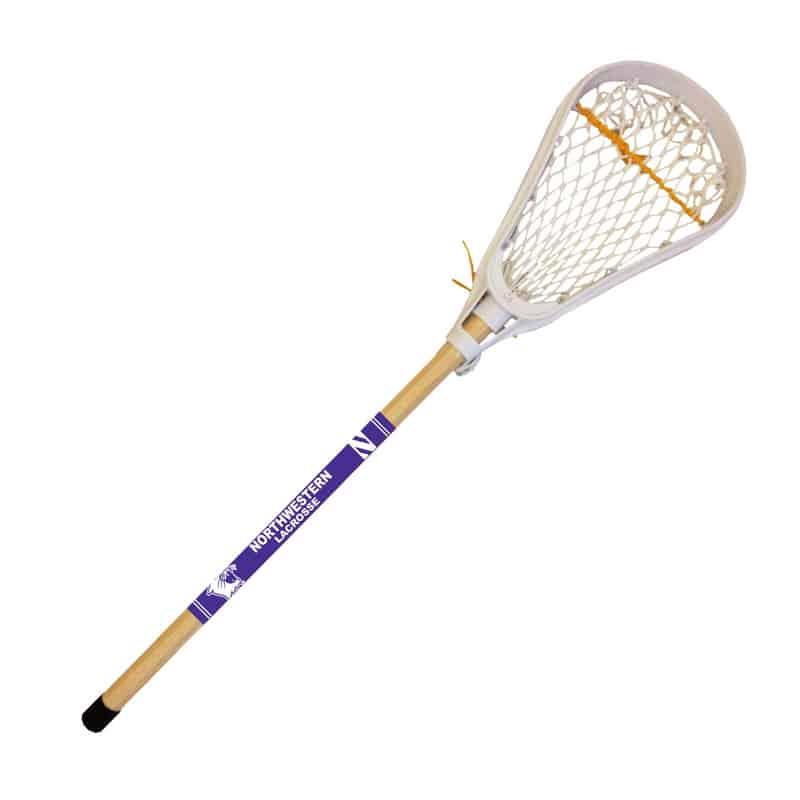 Northwestern University Wildcats Wooden Mini Lacrosse Stick 28