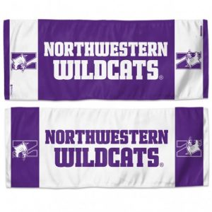 "Northwestern Wildcats Performance Fabric Cooling Towel 12"" x 30"""