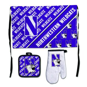 Northwestern Wildcats Deluxe Barbeque Set