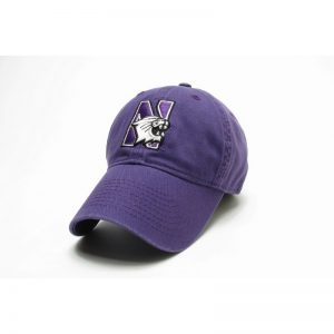 Northwestern Wildcats Legacy Unconstructed Adjustable Purple Hat with N-Cat Design