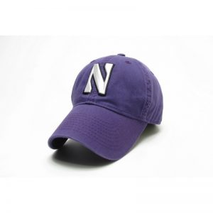 Northwestern Wildcats Legacy Unconstructed Adjustable Purple Hat with Stylized N Design