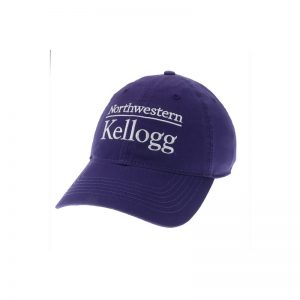 Northwestern Wildcats Legacy Unconstructed Adjustable Purple Hat with Kellogg Design