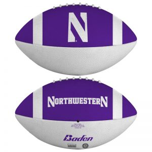 Northwestern Wildcats Rubber Mini Football 9""