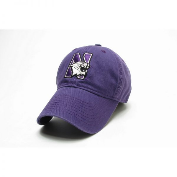 Northwestern Wildcats Legacy Unconstructed Fitted Purple Hat with N-cat Design