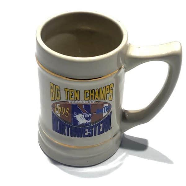 Northwestern Wildcats 26 oz. Ceramic Stein with Big Ten Champions 1995 Design