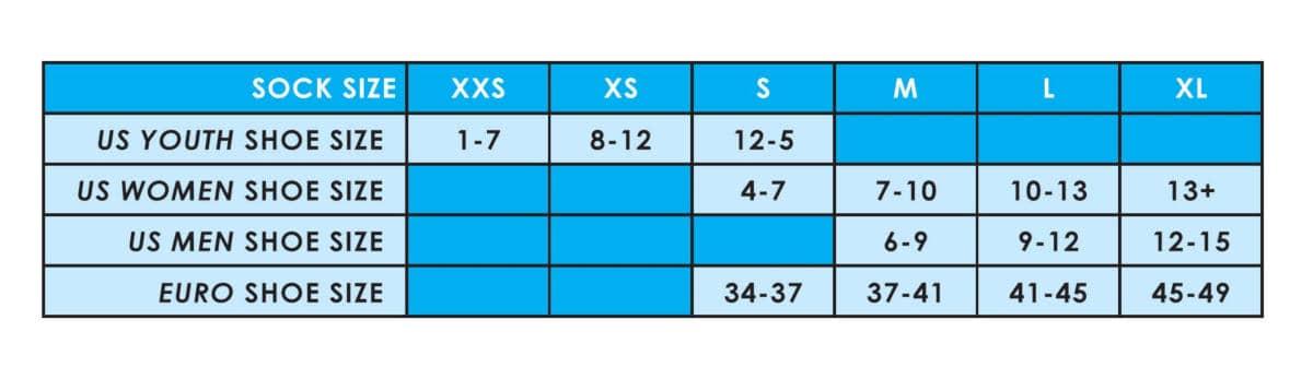 TCK Sizing Chart