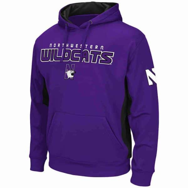 Northwestern Wildcats Colosseum Men's Purple Charge Pullover Hoodie