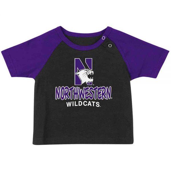 Northwestern Wildcats Colosseum Infant Titan Short Sleeve Tee