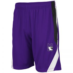 Northwestern University Wildcats Men's Colosseum Purple Rio Short with N-Cat Design
