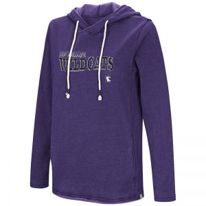 Northwestern University Wildcats Colosseum Purple Ladies Jouirney Is Everthing Vintage Hoodie