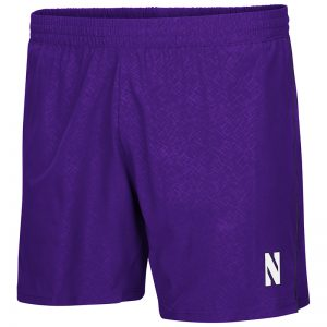Northwestern University Wildcats Men's Colosseum Purple Ciao Woven Short with N-Cat Design