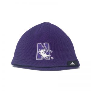 Northwestern University Wildcats Purple Infant & Toddler Knit Cap With N-Cat Design