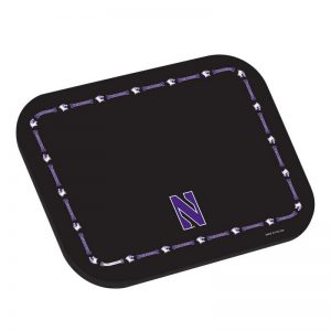 Northwestern University Wildcats Black Placemat With N Design